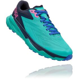 Hoka One One Zinal Shoes Women atlantis/outer space